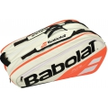 Babolat Pure Racquet Holder 12-Pack (White/Red)