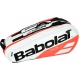 Babolat Pure Racquet Holder 6-Pack (White/Red) - Babolat Tennis Bags