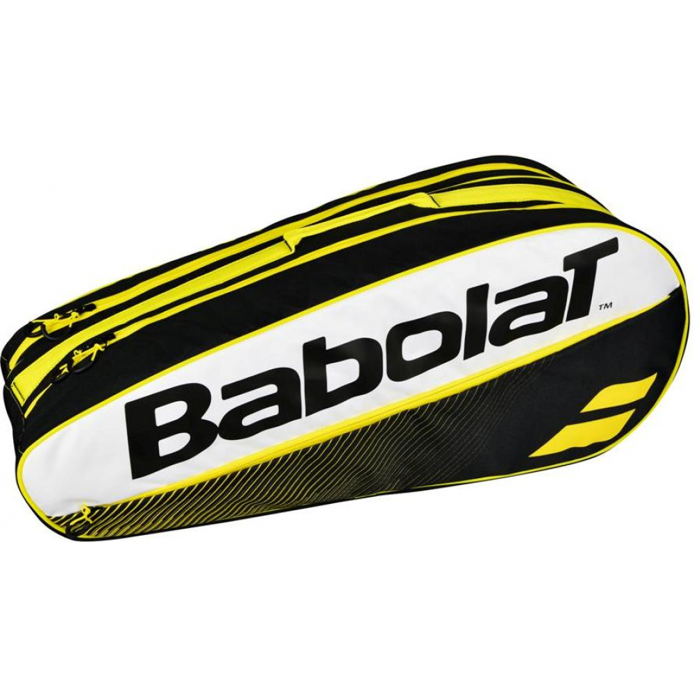 Babolat Club Line Racquet Holder x6 (Yellow)