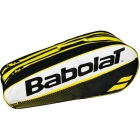 Babolat Club Line Racquet Holder x6 (Yellow) - 6 Racquet Tennis Bags