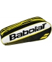 Babolat Club Line Racquet Holder x6 (Yellow) - Babolat Club Tennis Bags