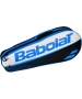 Babolat Club Line Racquet Holder x3 (Blue) - Babolat Club Tennis Bags