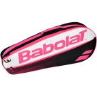 Babolat Club Line Racquet Holder x3 (Pink) - New Tennis Bags