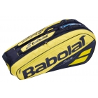 Babolat Pure Aero Racquet Holder x6 (Yellow/Black) - Babolat Pure Tennis Bags