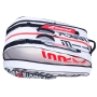 Babolat Pure Strike 3rd Gen RH x12 Tennis Bag (White/Red)