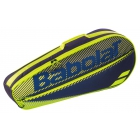Babolat Club Essential Racket Holder X 3 (Black/Yellow) - Junior Equipment Brands