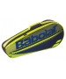 Babolat Club Essential Racket Holder X 3 (Black/Yellow) - 3 Racquet Tennis Bags