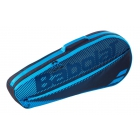 Babolat Club Essential Racket Holder X 3 (Black/Blue) -