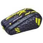 Babolat Pure Aero VS Racquet Holder x9 Tennis Bag (Yellow) - Babolat Pure Tennis Bags