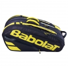 Babolat Pure Aero Racquet Holder x12 (Yellow/Black) - New Tennis Bags