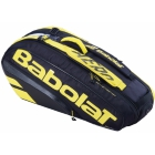 Babolat Pure Aero Racquet Holder x6 (Yellow/Black) - Enjoy Free FedEx 2-Day Shipping on Select Tennis Bags