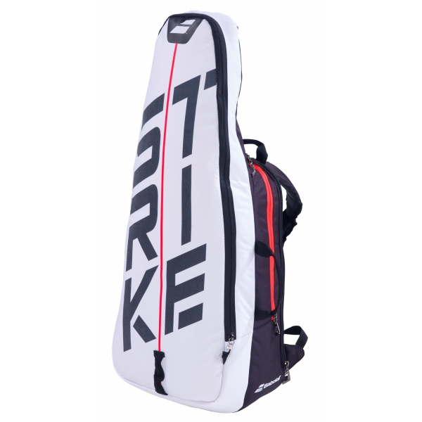 Babolat Pure Strike 3rd Gen Tennis Backpack (White/Red)