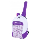 Babolat Junior Club Tennis Backpack (White/Purple) - Junior Tennis Bags & Backpacks