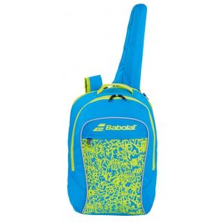 Babolat Junior Club Tennis Backpack (Blue/Acid Green)