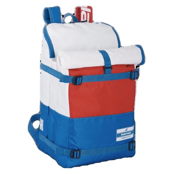 753090-203 Babolat EVO 3 + 3 Tennis Backpack (White/Blue/Red)