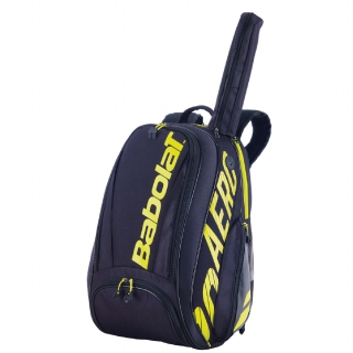 Babolat Pure Aero Tennis Backpack (Yellow/Black)