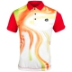 Lotto Men's Flame Polo (White/ Flame) - Lotto