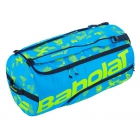 Babolat X-Large Tennis Duffel Bag (Blue/Acid Green) - Babolat Tennis Duffel Bags