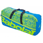 Babolat Classic Medium Tennis Duffel Bag (Blue Acid/Green) - Babolat Tennis Duffel Bags