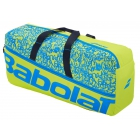 Babolat Classic Medium Tennis Duffel Bag (Acid Green/Blue) - Babolat Tennis Duffel Bags