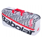 Babolat Pure Strike 3rd Gen Tennis Duffel Bag (White/Red) - Babolat Pure Tennis Bags