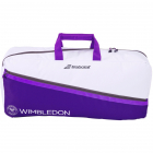 Babolat Medium Tennis Duffle Bag Wimbledon (White/Purple) -