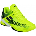Babolat Men's Propulse Fury All Court Tennis Shoes (Yellow) - Babolat Tennis Racquets, Shoes, Bags and More #TennisRunsInOurBlood