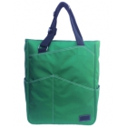 Maggie Mather Tennis Tote with Zipper Closure (Emerald) - Maggie Mather