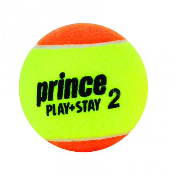Prince Stage 2 Two Tone Training Tennis Balls (12 pk)