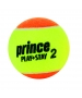 Prince Stage 2 Two Tone Training Tennis Balls (12 pk) - Tennis Skills Equipment