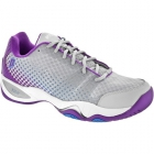 Prince Women's T22 Lite Tennis Shoes (Grey/Purple) - Prince Tennis Shoes