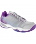 Prince Women's T22 Lite Tennis Shoes (Grey/Purple) - Tennis Shoes