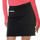 BloqUV Womens Golf Skirt with Built in Compression Shorts (Black) - Bloq-UV
