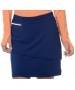 BloqUV Women's Golf Skirt with Built in Compression Shorts (Navy) - Shop the Best Selection of Tennis Apparel