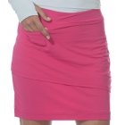 BloqUV Women's Golf Skirt with Built in Compression Shorts (Passion Pink) - Bloq-UV