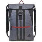 adidas Ultimate Core II Sackpack (Heather Grey/Scarlet) - Adidas Tennis Bags