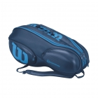 Wilson Ultra 9 Pack Tennis Bag (Blue/Blue) - 9 and 12+ Racquet Tennis Bags