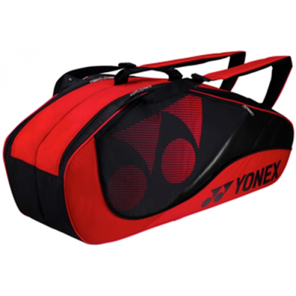 Yonex Tournament Active 6-Pack Racquet Bag (Red)
