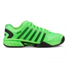 K-Swiss Junior Hypercourt Express Tennis Shoe (Neon Lime/Black) - Adidas Junior Tennis
