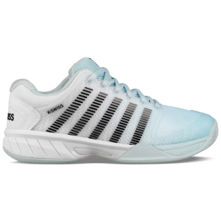 K-Swiss Junior Hypercourt Express Tennis Shoe (Pastel/Black/White)