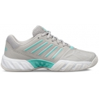 K-Swiss Kid's Bigshot Light 3 Junior Tennis Shoes, Vapor Blue/Aruba Blue/White - K-Swiss Junior Tennis Apparel and Shoes