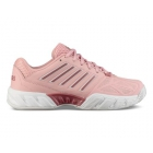 K-Swiss Junior Big Kids Bigshot Light 3 Tennis Shoes (Coral Blush/White) - Junior Tennis Shoes