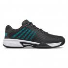 K-Swiss Junior Hypercourt Express 2 Kids' Tennis Shoes (Dark Shadows/Scuba Blue/White) -
