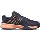 K-Swiss Junior Hypercourt Express 2 Kids' Tennis Shoes (Graystone/Peach Nectar) -
