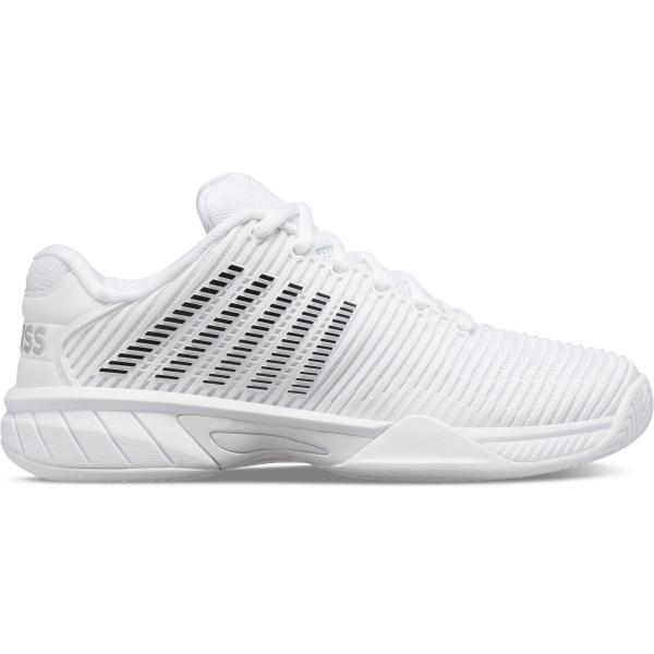 K-Swiss Junior Hypercourt Express 2 Kids' Tennis Shoes (White/Black)