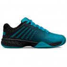 K-Swiss Junior Hypercourt Express 2 Kids' Tennis Shoes (Algiers Blue/Black) -