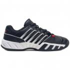 K-Swiss Juniors' Bigshot Light 4 Tennis Shoes (Black/White/Poppy Red) -