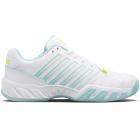 K-Swiss Juniors' Bigshot Light 4 Tennis Shoes (White/Icy Morn/Love Bird) -