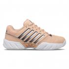 K-Swiss Junior Bigshot Light 4 Kids' Tennis Shoes (Peach Nectar/Graystone/White) -
