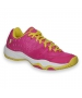 Prince Junior's T22 Tennis Shoes (Pink/ Yellow) - Kids Tennis Shoes